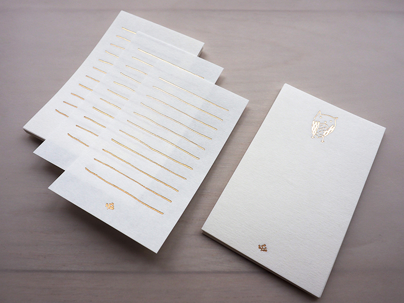 Noteworthy memo paper - little owl