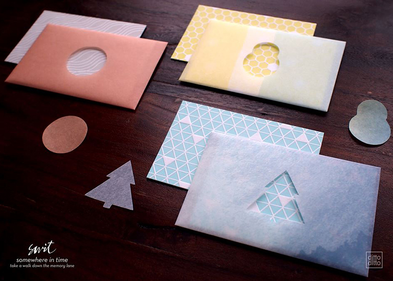 special mini pattern cards