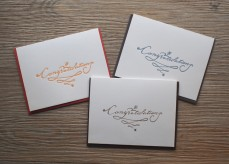Calligraphy Congratulations【ONLINE EXCLUSIVE】