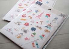 Japan Style Washi Stickers (set of 2)