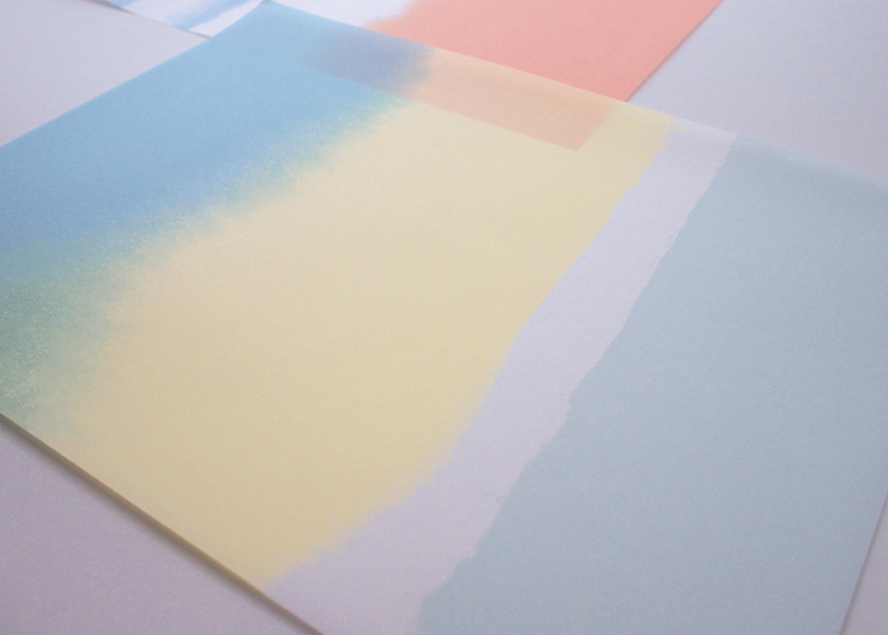Watercolor Landscape II Wrapping sheets