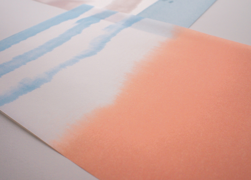 Watercolor Landscape IV Wrapping sheets